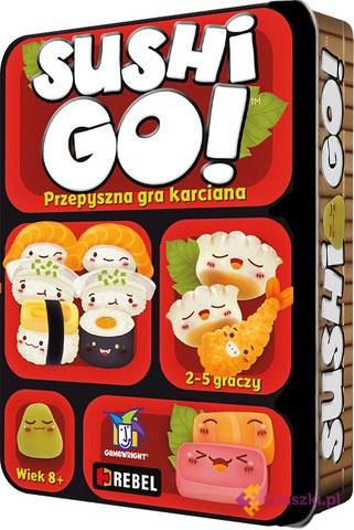 Sushi Go! (PL) | Rebel // darmowa dostawa od 249.99 zł // wysyłka do 24 godzin! // odbiór osobisty w Opolu